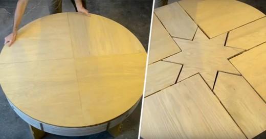 Esta mesa no es cosa sencilla, mira el video y descubre la magia detrás de esta bella mesa