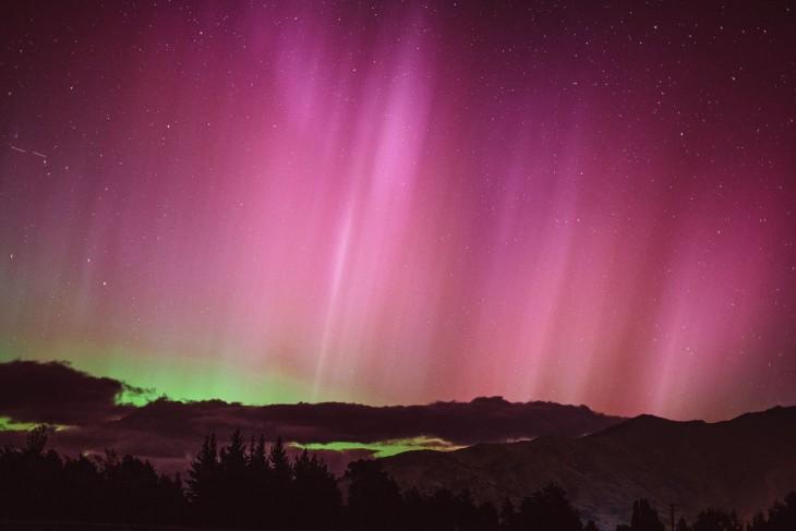 Luces del Sur en Wanaka, Nueva Zelanda