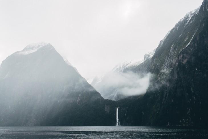 Parque Nacional de Fiordland, Milford Sound en Nueva Zelanda