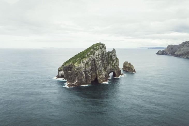 Bahía de las Islas en Northland, Nueva Zelanda