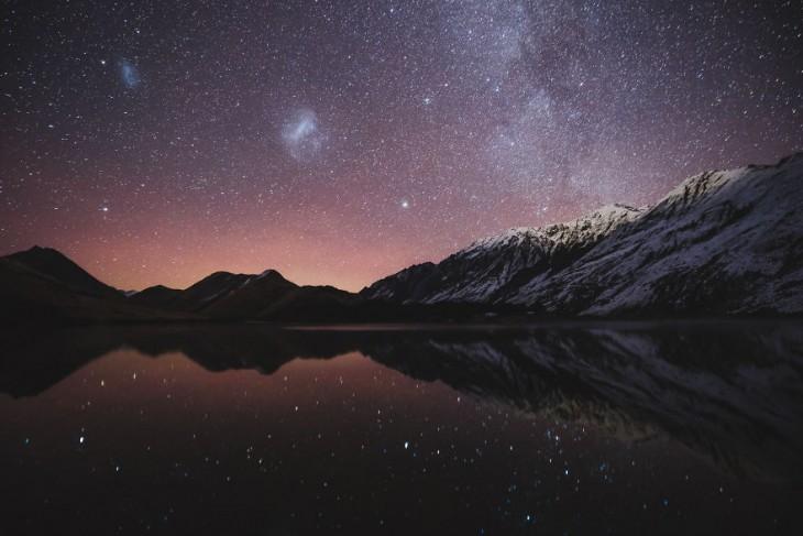 Lago Moke, Nueva Zelanda