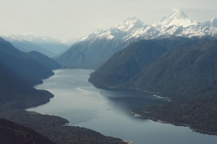 Parque Nacional de Fiordland en Nueva Zelanda