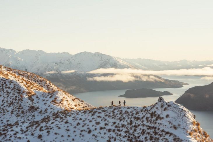 Roys Peak, Wanaka en Nueva Zelanda