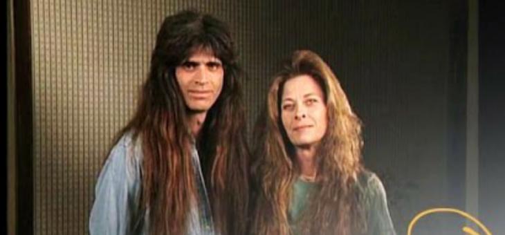 Tim y Wendy White la pareja con más de 10 años sin cortarse el cabello