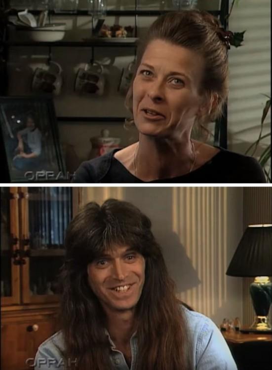Entrevista en el programa de Oprah a Tim y Wendy pareja que tenia años sin cortar su cabello