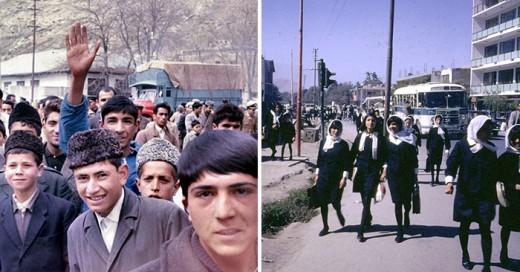 Increíbles fotografías muestran lo diferente que era Afganistán en la década de 1960, años antes de que los talibanes llegaran al poder.