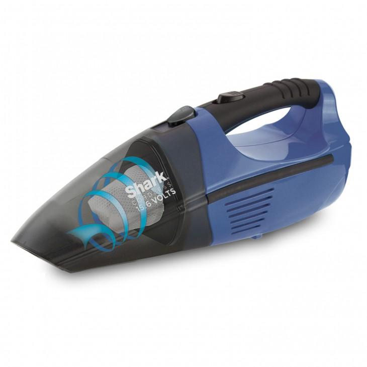 mini aspiradora recargable en forma de tiburón