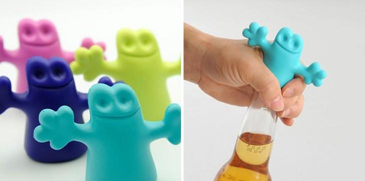 tapones para botellas con diseños divertidos