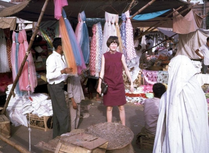 Afganos de compras en 1960