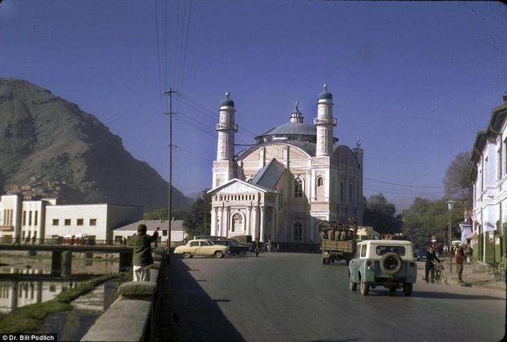 calle de Afganistán en 1960