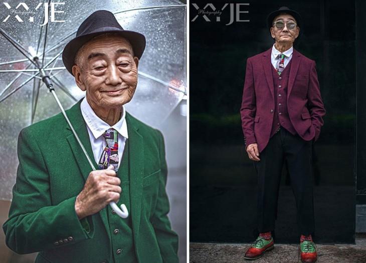 Granjero de 85 años se vuelve icono de la moda en China