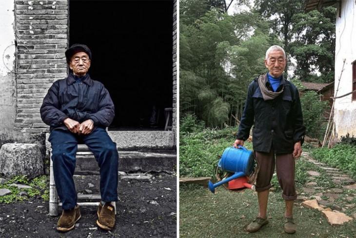 Ding Guoliang el granjero de 85 años que se volvió icono de la moda en China