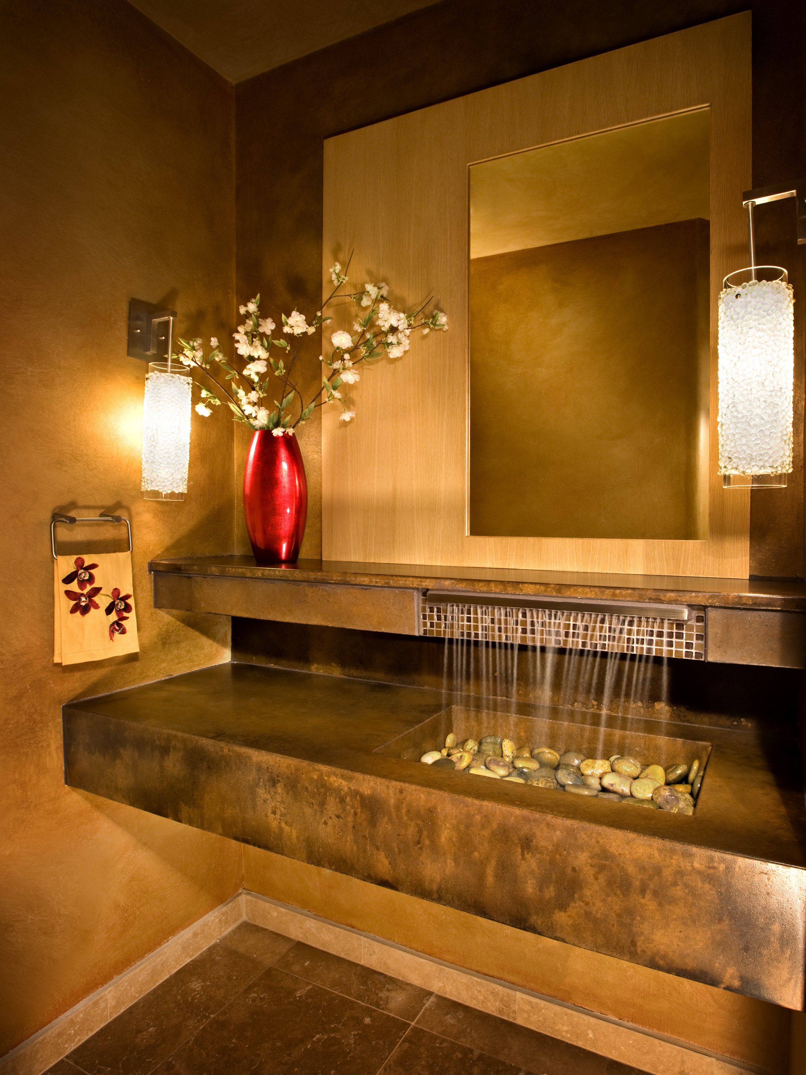 Incre bles y novedosos dise os en lavabos para ba o o cocina for Lavabo vidrio