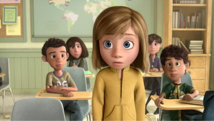 Riley en una de las escenas de la película de Disney 'Intensamente'