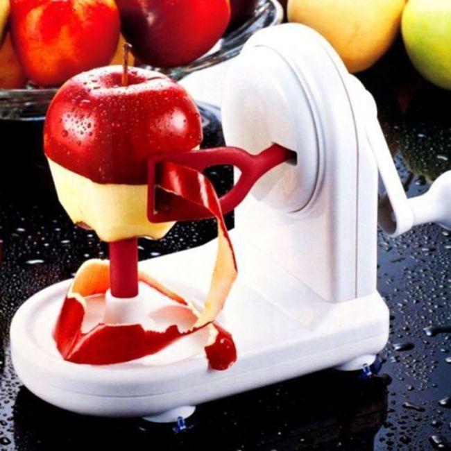 pelador automático para manzanas y kiwi