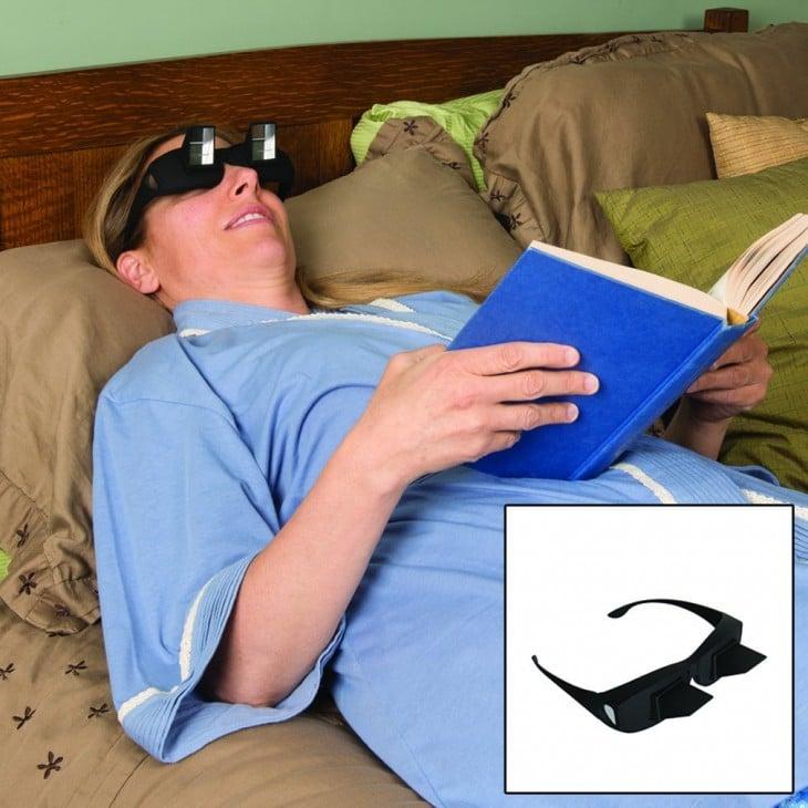 lentes ideales para leer acostado