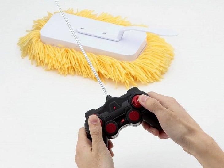 limpiador a control remoto