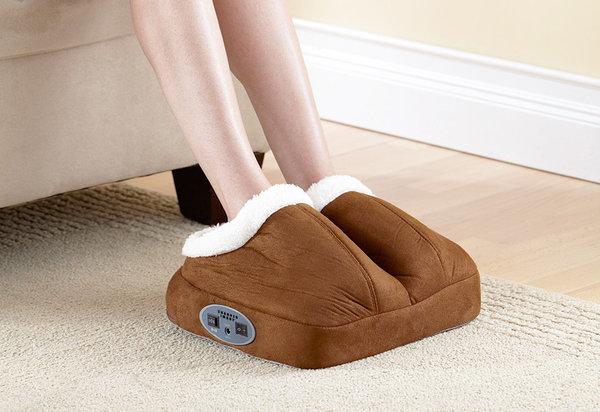 calentador automático para pies