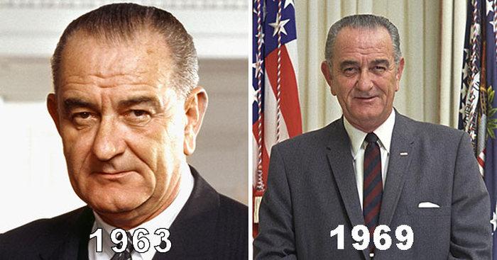 Lyndon B. Johnson 1963