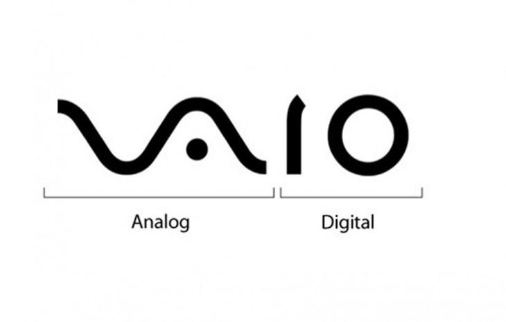 logotipo de la marca vaio