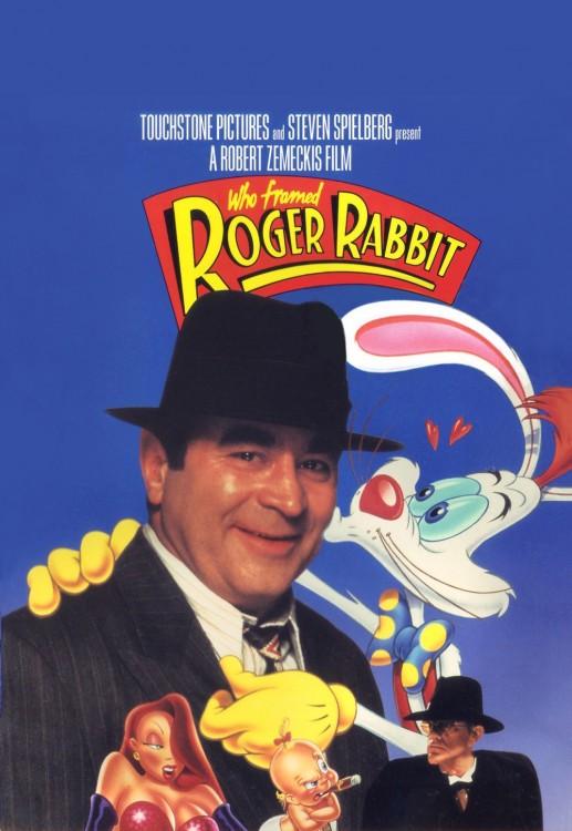 Portada de la película de Disney Who fromed Roger Rabbit