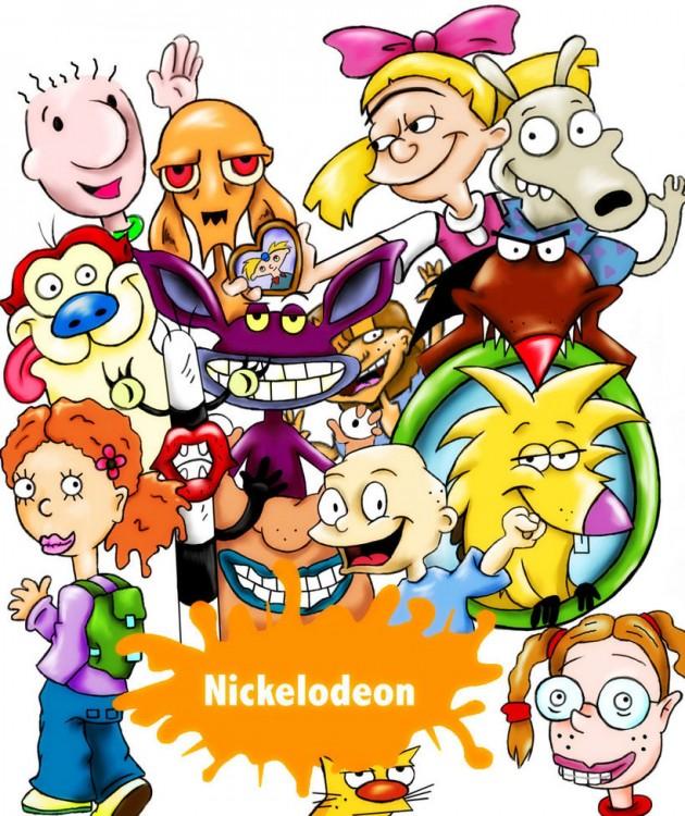 Personajes de las caricaturas de Nickelodeon de los años 90´s