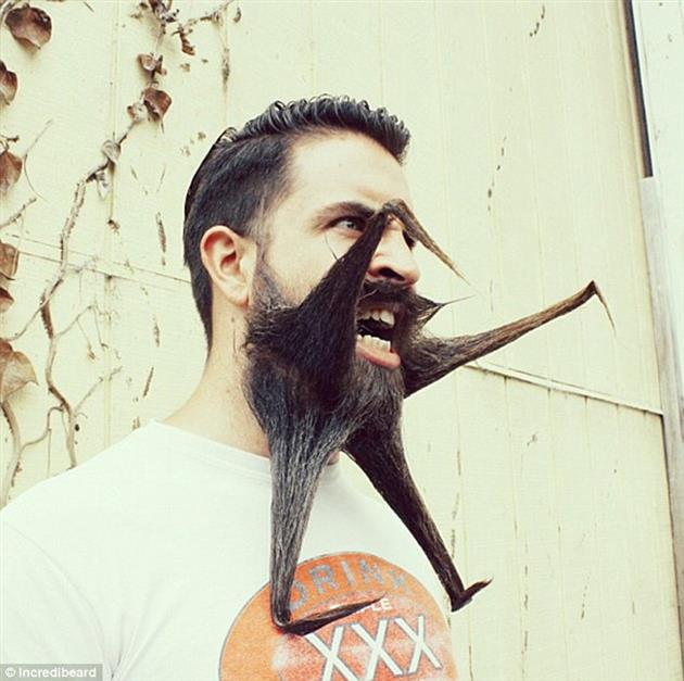 barba y foto original