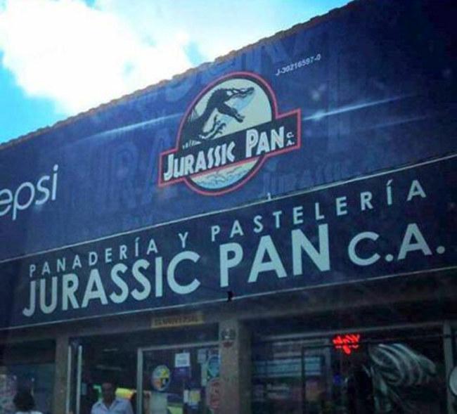 Pandadería y pastelería Jurassic Pan