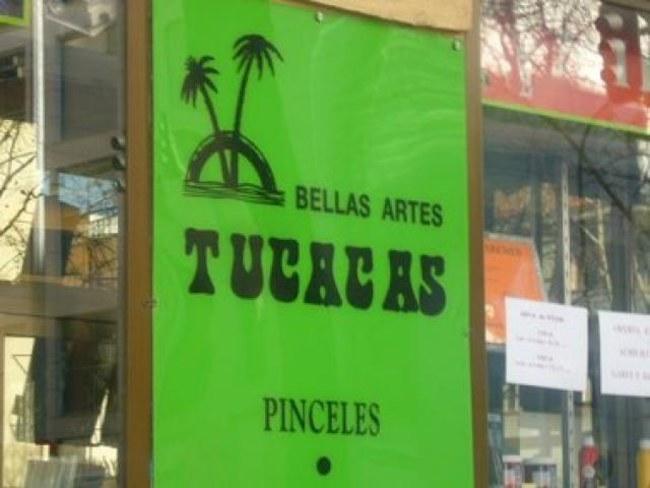 letrero de bellas artes TUCACAS