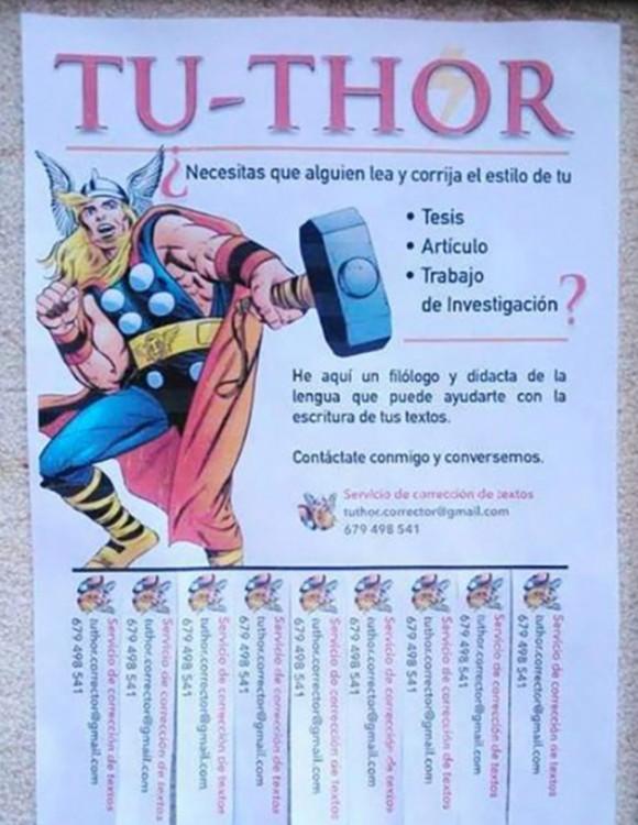 corrector de tesis y trabajos de investigación TU-THOR