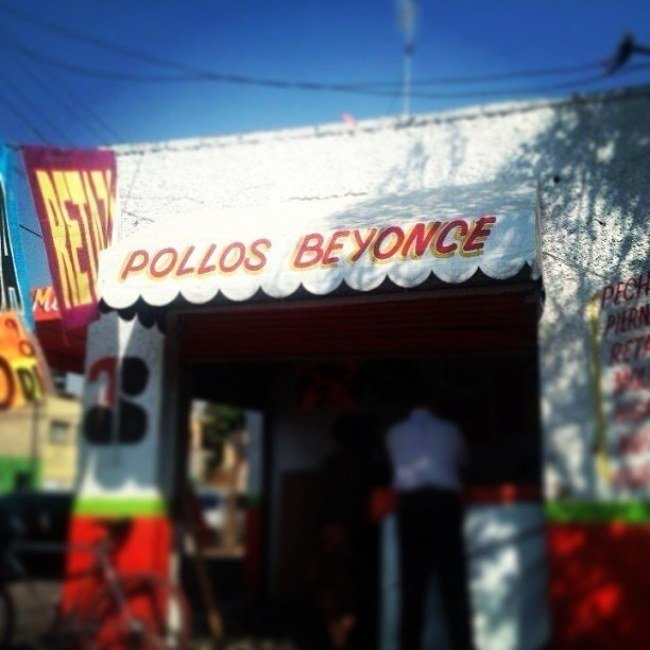 Local de los pollos BEYONCE