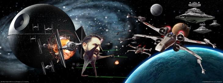 una batalla de la galaxia