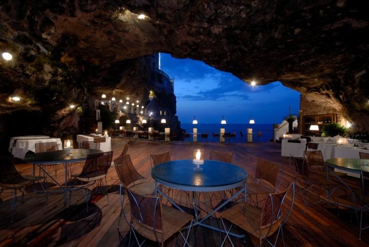restaurante vista desde el interior
