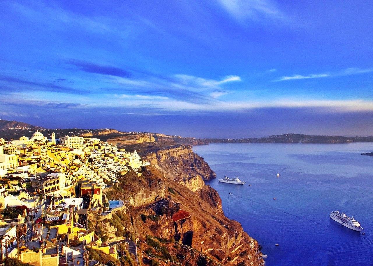 Fotos que demuestran que Santorini es el cielo en la tierra