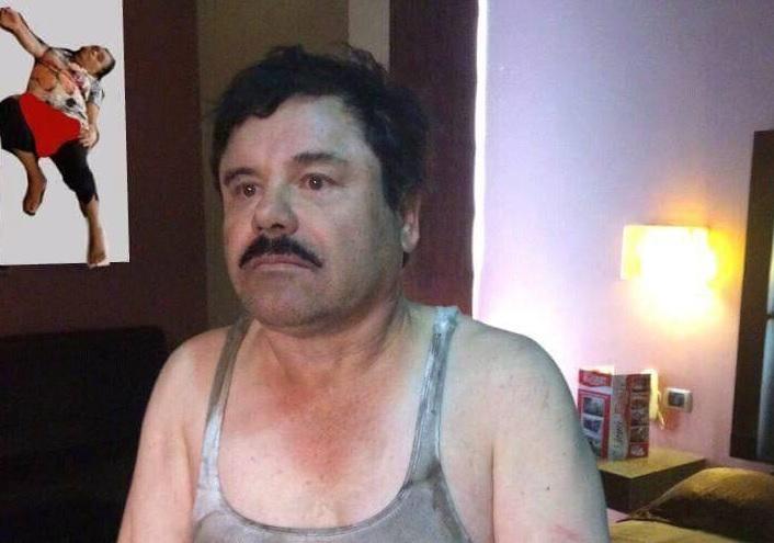 EL CHAPO LA TIENE CON UN POSTER AL FONDO SEÑORA DORMIDA PLAZA UNIVERSITARIA