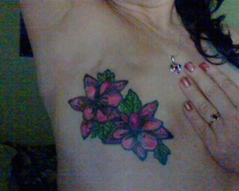 Increíbles Tatuajes Sobre Cicatrices De Cáncer De Mama