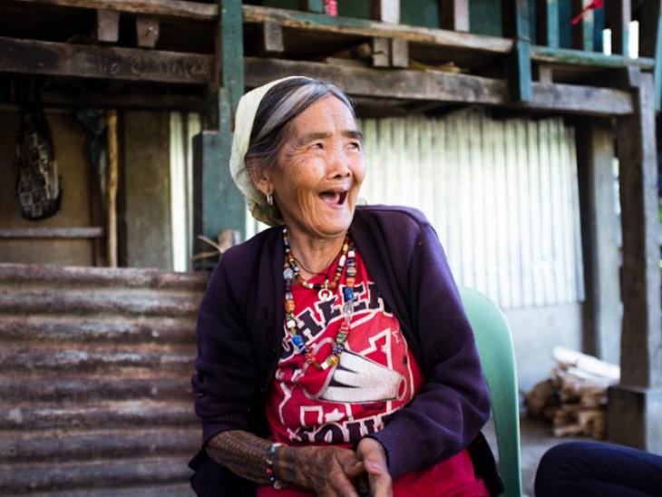 Whang-do la última tatuadora tradicional en Filipinas