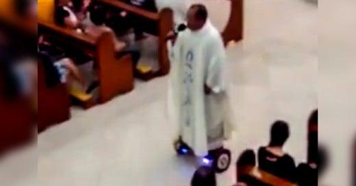 Sacerdote suspendido por hacer show en ceremonia sagrada