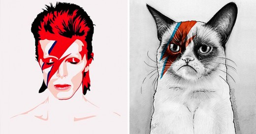 artistas rinden tributo al fallecido artista de rock David Bowie
