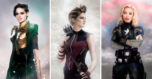 Los Vengadores de mujeres
