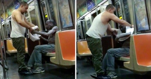hombre en Nueva York da esperanza a la humanidad con sus buenos actos.