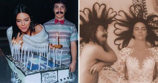 hombre excelente para trabajar con el Photoshop, pues ha logrado estar al lado de su ídolo del modelaje Kendall Jenner