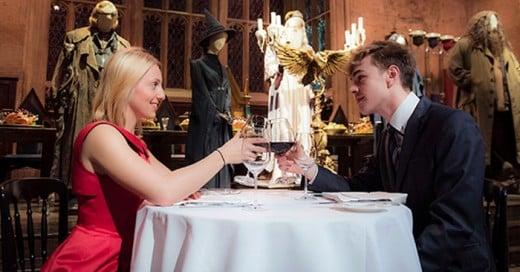 Una cena romántica en Hogwarts para este de San Valentin