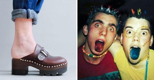20 modas de hace 1996 que nunca devén de volver