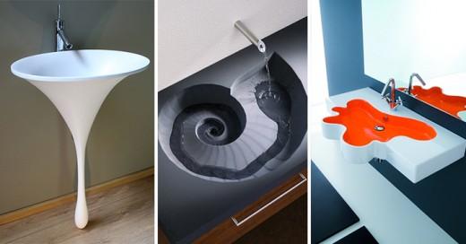 Diseños de lavabos asombrosos