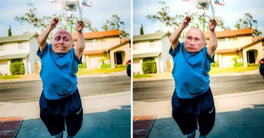 Vernie Troyer utilizado por los photoshoperos