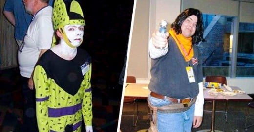 Los peores cosplay de Dragon ball z
