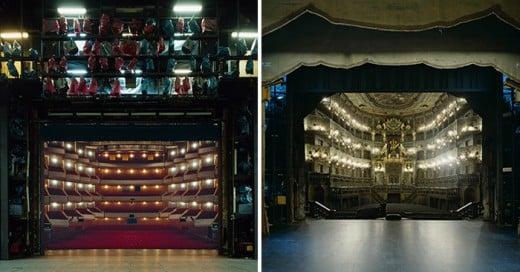 15 fotografías que muestran como ven los actores detrás del escenario