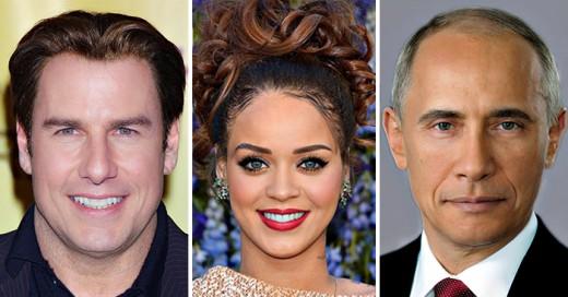 Geniales fotografías de la conbinación de las celebridades mas conocidas
