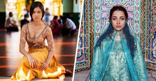 Fotógrafa capta la belleza de 104 mujeres de todo el mundo